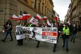 Chcą powrotu uczniów do szkół i zniesienia restrykcji. Kolejny protest Małopolskiego Marszu Wolności