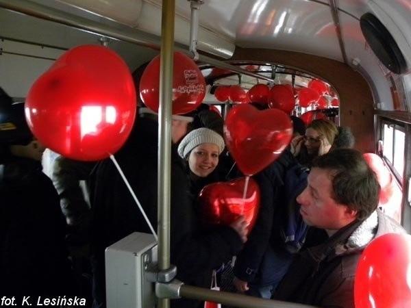 MPK Poznań - Walentynkowy tramwaj 2013