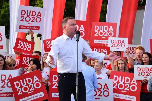 Prezydent Andrzej Duda w Białymstoku