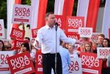 Wybory prezydenckie 2020: Ostatnie dni kampanii. Duda leci do USA, Trzaskowski wrócił do Warszawy po ulewach i kontynuuje objazd po Polsce