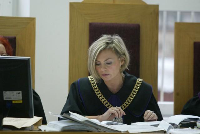 Sędzia Anna Starczewska (na zdjęciu) dociekała, czy na sali chorych był monitor