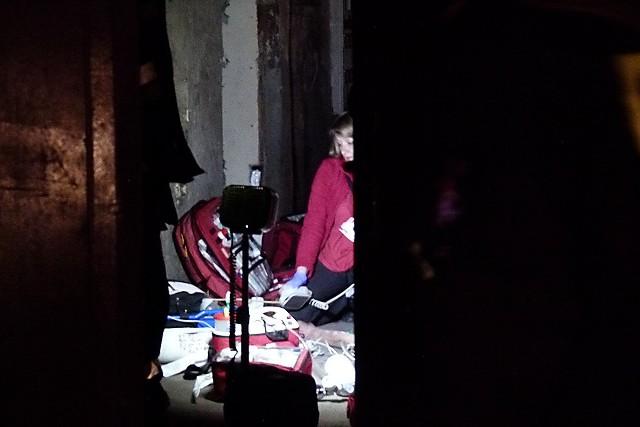 W pożarze mieszkania w kamienicy przy Kaliskiej 28 w Łodzi zginął 61-letni mężczyzna