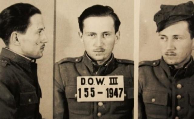 Ppor. Jerzy Przerwa - skazany na śmierć dowódca plutonu alarmowego Wojska Polskiego w Lesznie