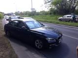 Wypadek BMW i skody w pobliżu Magnolii (ZDJĘCIA)