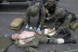Ewakuowali rannych z pola walki! [FILM, zdjęcia]