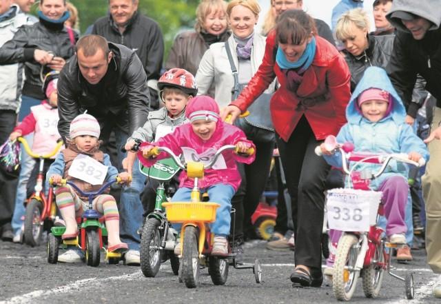 W naszych zawodach rowerkowych udział mogą wziąć dzieci od trzeciego do 12. roku życia.