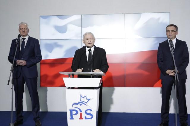 Spotkanie liderów Zjednoczonej Prawicy. Kaczyński, Gowin i Ziobro będą rozmawiać między innymi o dymisjach w rządzie
