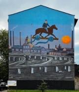 Szlak katowickich murali. W mieście jest kilkadziesiąt ulicznych malowideł. Zobaczcie te najciekawsze
