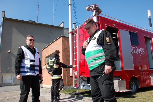 Na zdj. bryg. Piotr Szpunar (z lewej) - szef sztabu i bryg. Robert Kłósek - dowodzący ćwiczeniami