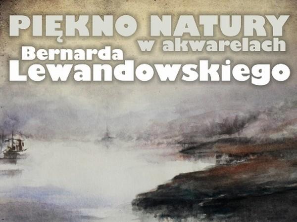 W piątek w muzeum regionalnym w Międzychodzie otwarta zostanie wystawa akwarel, których autorem jest Bernard Lewandowski.