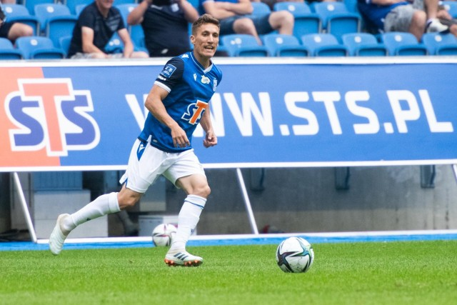 Joel Pereira już w swoim drugim występie w Ekstraklasie, został ukarany czerwoną kartką