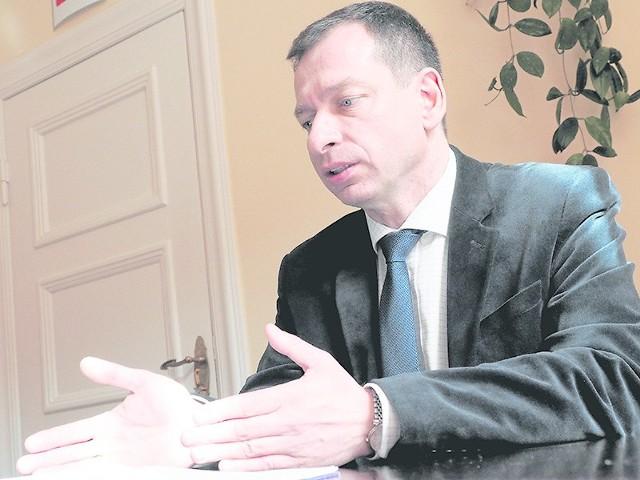 Tomasz Hynda, starosta powiatu białogardzkiego: - Przedsta-wimy obecną sytuację oraz omówimy plan na najbliższe tygodnie