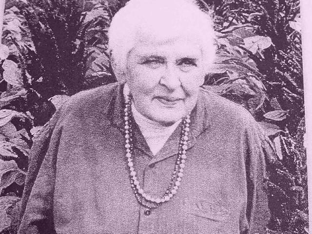 Wanda Pomianowska w czasach, gdy była przewodnicząca Rady Gminy Pawłów