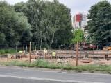 Rośnie restauracja sieci KFC w Ostrowcu. Są już fundamenty (ZDJĘCIA)