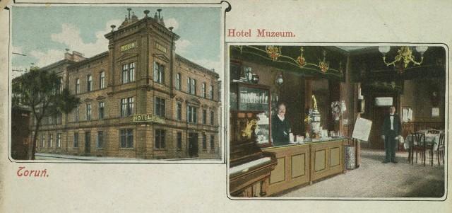 Przenosimy się do hotelu Muzeum, którego goście 120 lat temu wypijali średnio 360 beczek piwa rocznie.