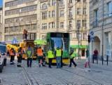 Tramwaj wykoleił się przy Okrąglaku. MPK Poznań wprowadziło objazdy
