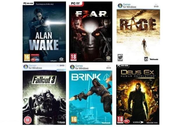 Gry w BiedronceAlan Wake, F.3.A.R., RAGE, Fallout 3, Brink, Deus Ex: Bunt Ludzkości... Przy takiej cenie to niezła okazja do uzupełnienia kolekcji