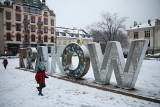 Zima w Krakowie najbardziej ucieszyła dzieci. W końcu można było wyciągnąć sanki! [ZDJĘCIA]