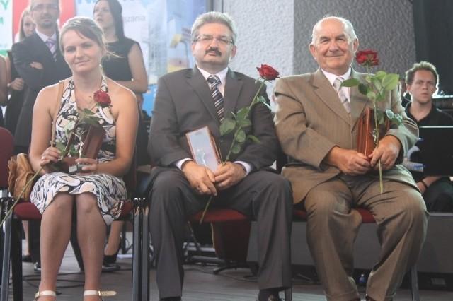 Od lewej: Karolina Rodewald, Artur Maniura, Jan Zdański