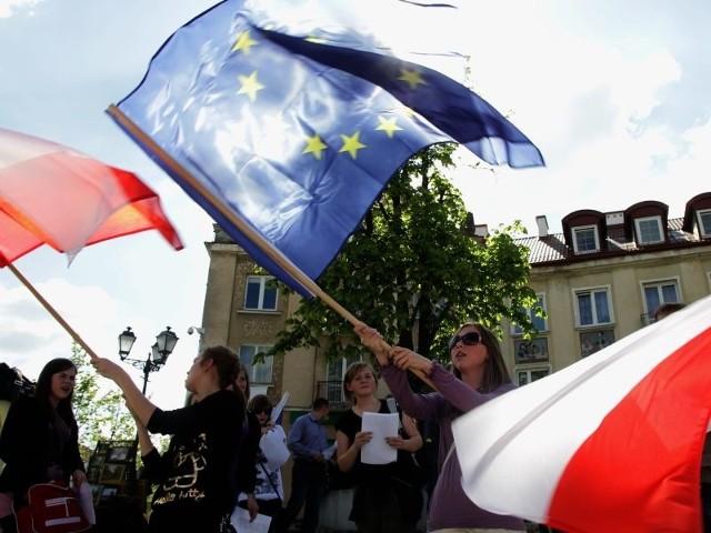 Flash mob na Rynku Kościuszki