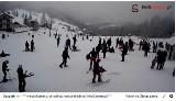 W Beskidach sypie śnieg 15.01.2017 Piękna zima dla narciarzy [ZDJĘCIA Z KAMEREK]