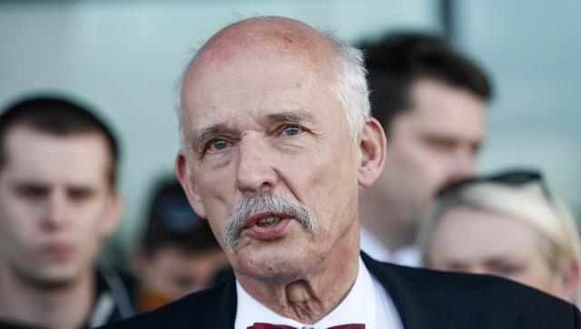 Janusz Korwin-Mikke: Wejdę do parlamentu, spokojnie. Będziemy mieć z 8-procentowe poparcie