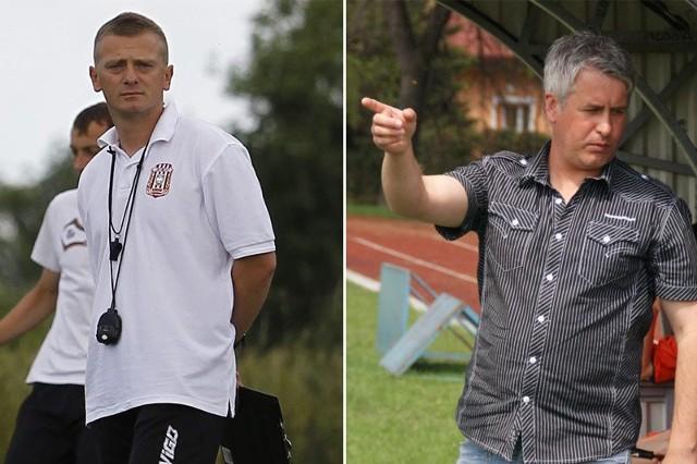 Artur Łuczyk (z lewej) doświadczenie z pracy w Resovii już ma. Roman Borawski w Rzeszowie dostałby szansę debiutu w III lidze.