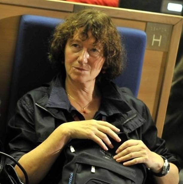 """Anna Maria Potocka od 2010 roku jest dyrektorem Muzeum Sztuki Współczesnej w Krakowie MOCAK, a od marca 2019 kieruje też Galerią Sztuki Współczesnej """"Bunkier Sztuki"""""""