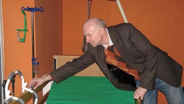 Jerzy Ejmont, założyciel Stowarzyszenia Wspierającego Aktywność Niepełnosprawnych i Seniorów Centrum Opieki 24