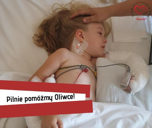 Mała Oliwia przeżyła koszmarny wypadek samochodowy. Lekarze z DSK walczą o jej zdrowie. Potrzebne wsparcie finansowe!