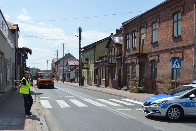 Droga krajowa nr 79 w centrum Koszyc