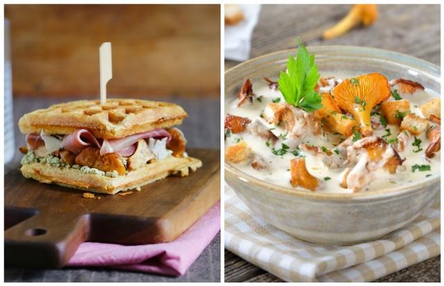Jak wykorzystać kurki w naszej kuchni? Polecamy przygotować sos i wyjątkowe w smaku gofry.