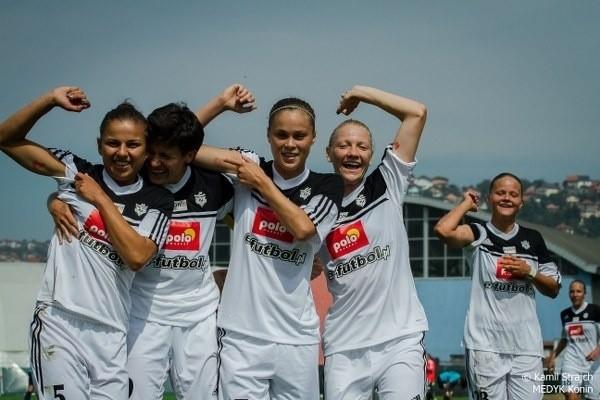 Radość piłkarek Medyka Konin