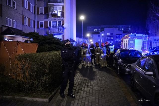 Tragedia przy ul. Promiennej w Tarnowie