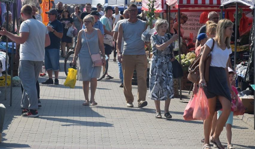 Niedzielny targ w Wierzbicy (25 lipca) tradycyjnie...
