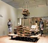 Wystawa Muzeum Sztuki w Brazylii. Kantor wysoko ustawił poprzeczkę