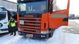 Ciężarówka zatrzymana na S3: Łysa opona z wystającymi drutami [ZOBACZ]