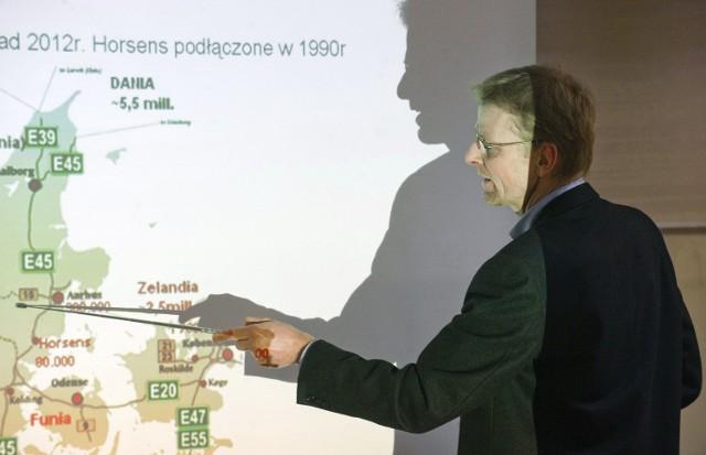 Koszalin. Gość z Danii uczestniczył w Radzie GospodarczejSoren Jylling pochodzi z Danii, to architekt i właściciel biura nieruchomości ALTO.