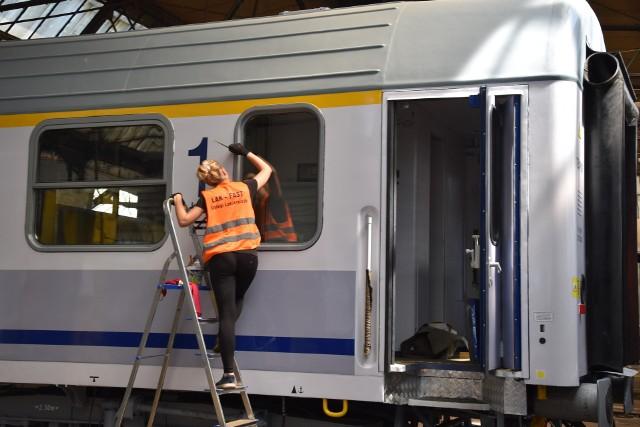Opolska firma naprawiająca wagony będzie naprawiała wagony należące do PKP Intercity.