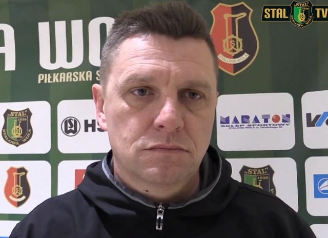 """Jaromir Wieprzęć, trener """"Stalówki"""", powiedział między innymi o potrzebach na rynku transferowym"""