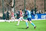 Centralna Liga Juniorów U-18. Hutnik Kraków dwukrotnie doprowadzał do remisu, ale ostatecznie przegrał z Cracovią [ZDJĘCIA]