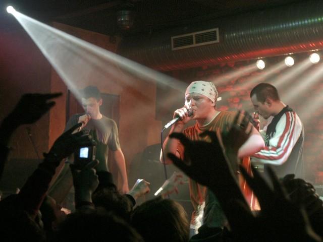 Koncert zespołu Kaliber 44 w klubie Alibi - styczeń 2005 roku