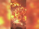 Potężny huk, ściana ognia i panika. Zobacz amatorskie nagranie eksplozji w Chinach [wideo]