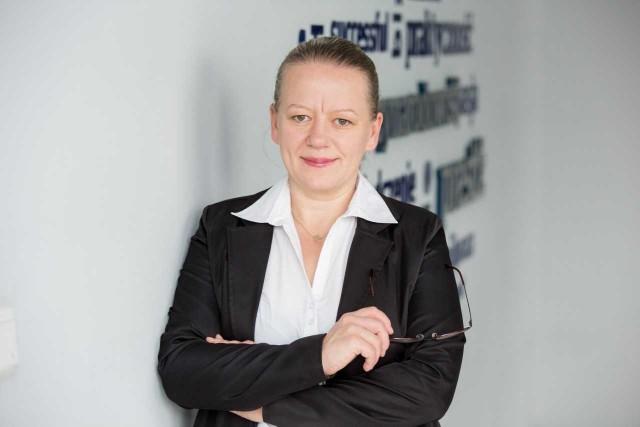 Elżbieta Modrzejewska, pełnomocnik dziekana ds. osób z niepełnosprawnością w WSB w Opolu
