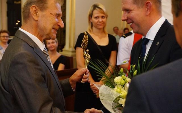 Stanisław Oślizło otrzymał Złotego Wawrzyna