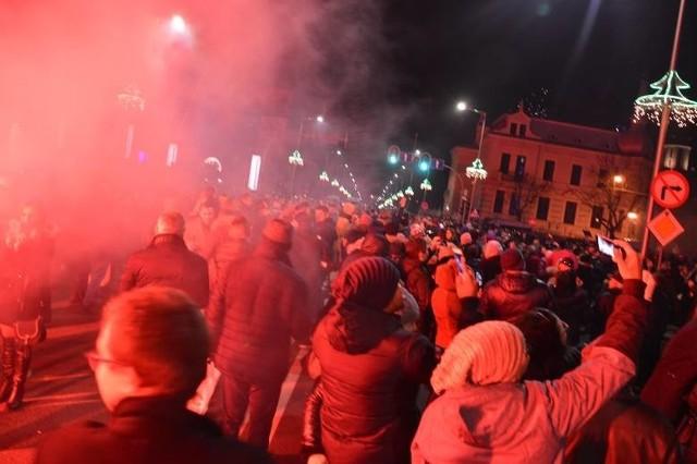 Miejski Sylwester w Zielonej Górze w 2019 roku.