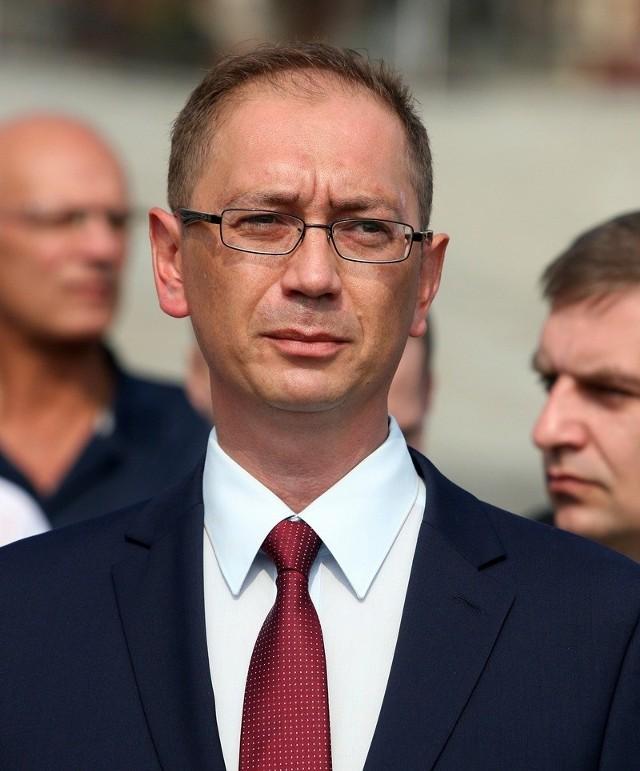 Łukasz Tyszler, kandydat z ramienia PO na prezydenta Szczecina.