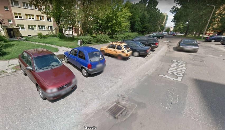 Przyłapani przez kamerę Google Street View we Włocławku
