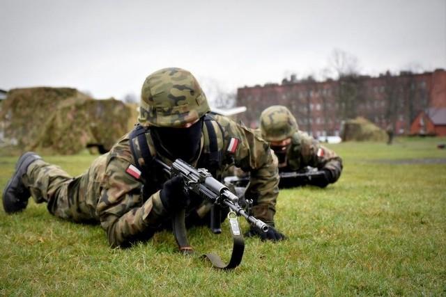 Podoficerowie ćwiczyli w 15. Sieradzkiej Brygadzie Wsparcia Dowodzenia