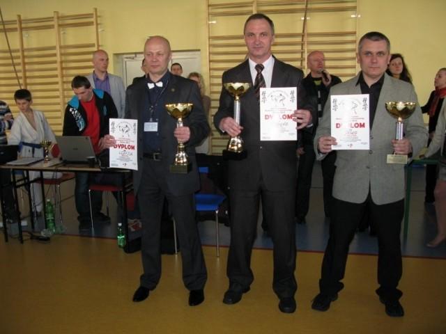 Trenerskie podium mistrzostw Podkarpacia.